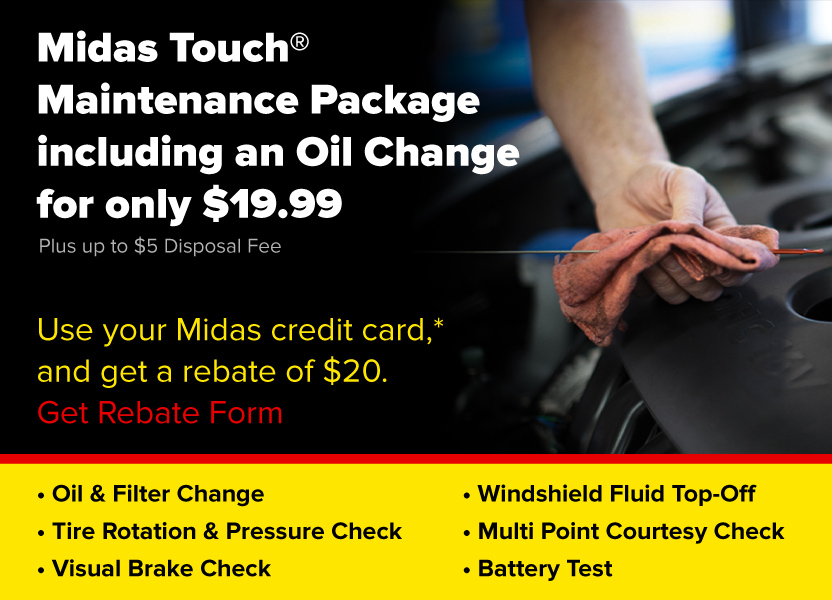 MTMP Rebate and Oil Change