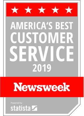 America's best customer service 2019 Newsweek Powered by Statista