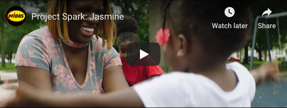 Watch how Midas Project Spark has helped Jasmine