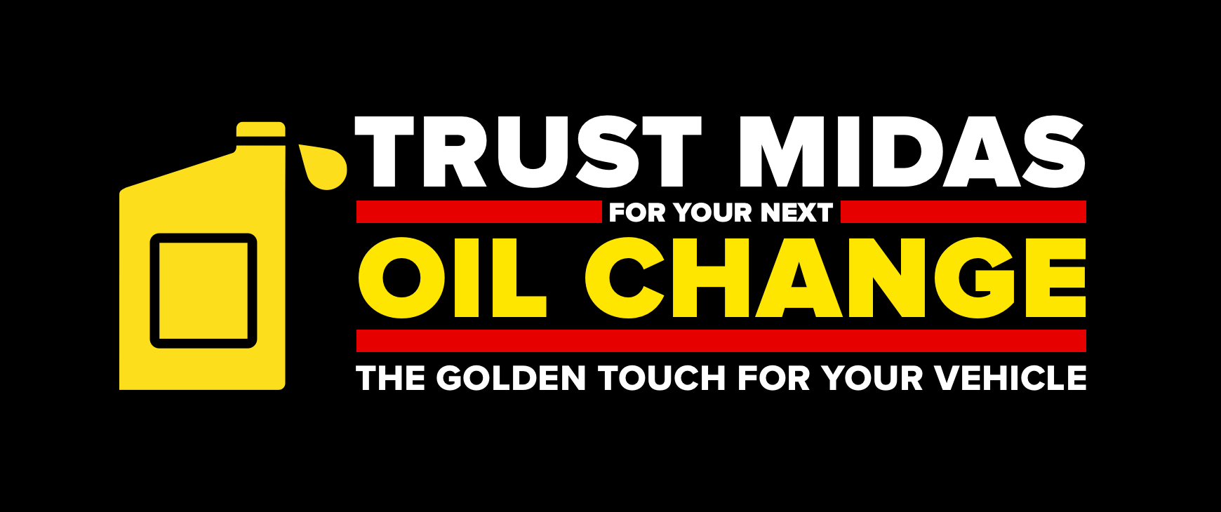 Trust Midas For Your Next Oil Change The Golden Touch For Your Vehicle