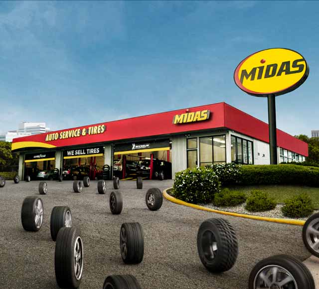 Midas : Brakes, Tires, Oil Change, All Of Your Auto Repair