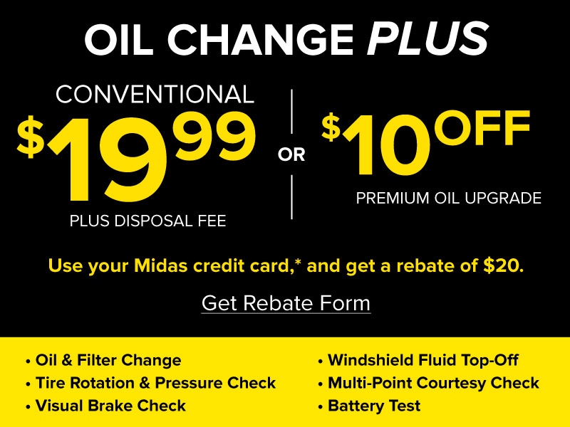 US Oil Change Promo