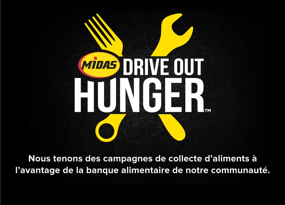 Drive Out Hunger Food Drive French