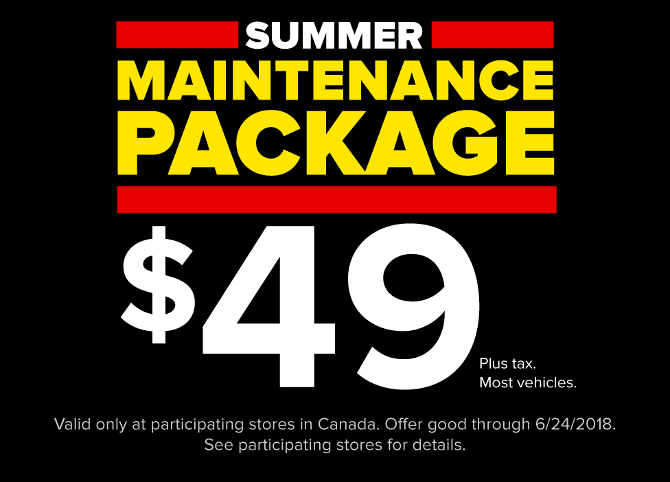 $49 Summer Maintenance Package