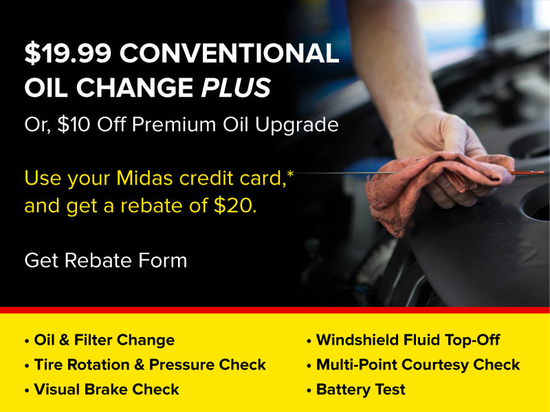 $19.99 Oil Change Plus