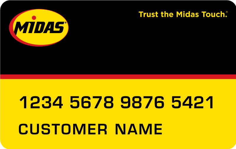 midas credit card